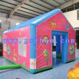 Tenda gonfiabile di campeggio della tenda gonfiabile gigante di qualità superiore utilizzata per la corsa e la tenda esterna