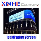 P10mm Color fijo al aire libre de publicidad de vídeo LED Pantalla LED de pared