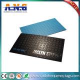 Cartes de visite professionnelle de visite faites sur commande UV de cartes estampées de PVC d'endroit