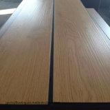 Kommerzielle hölzerne Muster Belüftung-Planke-loser Lagen-Vinylbodenbelag