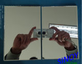 2mm a 6mm Thickness Italia Fenzi Paint Silver Mirror