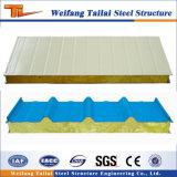 Vente de laine de roche Wichpanel de sable chaud pour la construction de maisons de la structure en acier