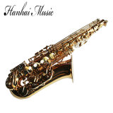 Hanhai Music / Gold Eb Key Brass Alto Saxophone