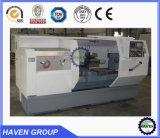 Máquina horizontal econômica do torno do CNC CK61125