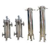 Alloggiamento industriale dell'acciaio inossidabile dei filtri a sacco del micron