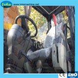 China 12t de la excavadora ruedas excavadora ruedas excavadora de la exportación, para la venta, la excavadora hidráulica