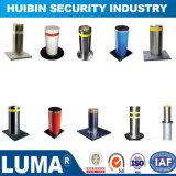 En acier inoxydable amovible Post à la hausse de 6 mm bollard d'avertissement pour la vente
