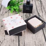 Separador de mármol con jabón de cajón, caja de regalo, Papel, manchas de logo personalizado.