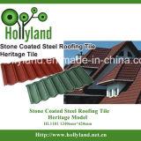 石造りの上塗を施してある金属の屋根瓦(古典)