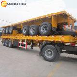 rimorchi a base piatta 40FT ampiamente usati del camion del contenitore 35ton da vendere