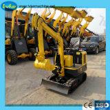 Mini excavadora sobre orugas 1800kg con certificado CE