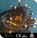 ゴム製ケーブルLEDのクリスマスストリングライト
