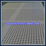 亜鉛によって塗られるパンチ穴シートか打ち抜かれた金属の網(ISO 9001)
