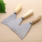 Hölzerner Griff-hohes Härte-Kitt-Messer für das Aufbau-Vergipsen