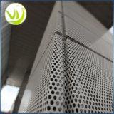 Lamina di metallo perforata per decorativo architettonico