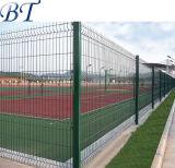 PVCによって塗られる溶接された金網の折る塀