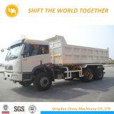 FAW 6X4 350CV pesado camión volquete Camión volquete