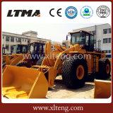 China Ltma 26 Ton Diesel Forklift Wheel Loader para Venda