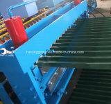 Telha de aço com vidro colorido R máquina de formação de rolos do Painel