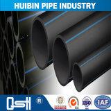 Tubo ad alta densità flessibile nero del rifornimento idrico