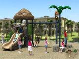 Kaiqi Small Slide und Swing Set Childrens Outdoor Playground (KQ30012A)