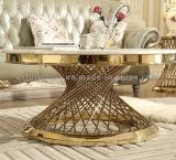 Журнальный стол самомоднейшего модельного белого мраморный хорошего цены круглый