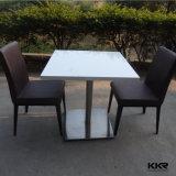 مطعم أثاث لازم طاولة [دين تبل] بيضاء صلبة سطحيّة