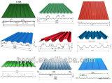 Panel de techo de tejas enrolladora de doble capa