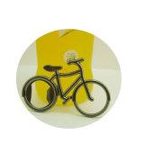 Apri su ordinazione all'ingrosso della bottiglia da birra del metallo di figura della bici della bicicletta