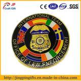 2018 Commerce de gros logo personnalisé de l'émail de métal Souvenir d'un insigne avec l'ODM et OEM