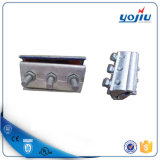 二重ボルト平行溝のコネクターの銅およびアルミニウムワイヤーコネクターに合う電線
