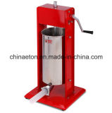 Stuffer comercial da salsicha do aço 7L inoxidável (CV-7)