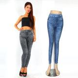 Imprimer Pantalon polyester bleu denim Jean
