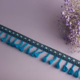 Form-nationale Art-Troddel-Spitze für Kleid und Dekoration