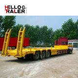 3 Axles 40-100 тонны низкий кровати груза тележки трейлер Semi