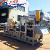 Добыча полезных ископаемых промышленного ремня фильтра нажмите для сверления жидкости