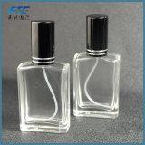 30ml Perfume claro cristal botella con pulverizador negro