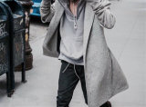 Высокое качество Hoody человека вскользь и холодное свитера