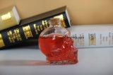 Prezzo di fabbrica di vetro della bottiglia del liquore o di vino del cranio