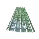 La couleur en acier ondulé galvanisé recouvert de tôle de toit de tuile de toit