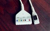 Cavo del circuito di collegamento ECG di BACCANO 7 di GE-Rozinn Snap&Clip