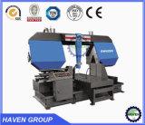 水平の金属のタイプバンド鋸引き機械