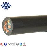(25mm2, 35mm2, 70mm2, 50mm2, 95mm2, 120mm2) XLPE ou cabo de alimentação com isolamento de PVC