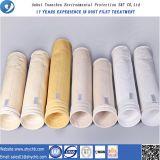 La fabbrica direttamente fornisce al sacchetto filtro della polvere della composizione PPS e P84 per l'industria di metallurgia il campione libero