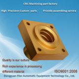 Bon prix service accessoire automatique en laiton de précision les pièces d'usinage CNC