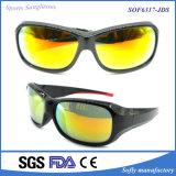 مصمّم بلاستيكيّة رياضة نظّارات شمس مع [س] تصديق