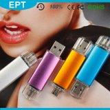 싼 다채로운 플라스틱 립스틱은 형성했다 OTG USB 섬광 드라이브 (TJ004)를