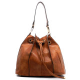 Kundenspezifisches China Highquality Women Bucket Bag mit Tassel (ZX20369)