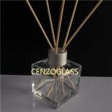 bottiglie di vetro quadrate del diffusore 100ml con le protezioni (ZB1228)