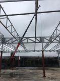 Costruzione industriale prefabbricata della struttura d'acciaio dell'ampio respiro per il capannone
